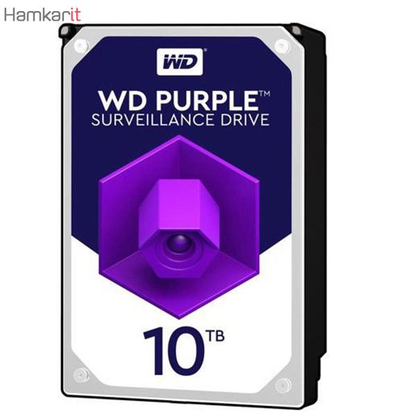 هارد اینترنال وسترن دیجیتال بنفش با ظرفیت ۱۰ ترابایت